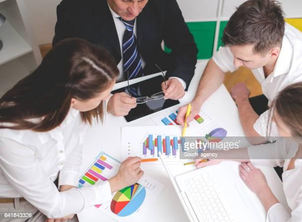 Büro-Team-meeting