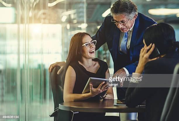 Büro-Teamarbeit