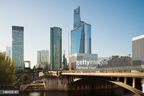Office Towers in La Defense : Stock Photo