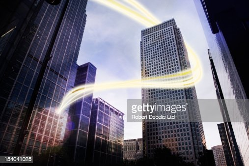 Office using cloud computing : Stock Photo