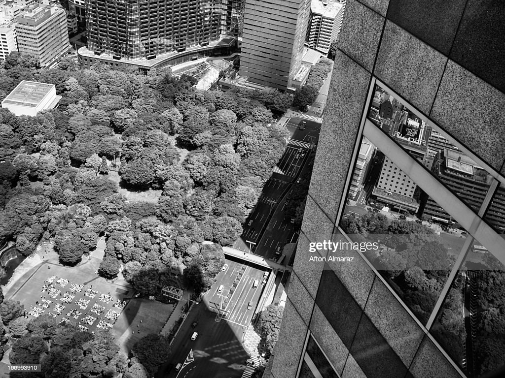 Office View In Tokyo Japan : Stock Photo