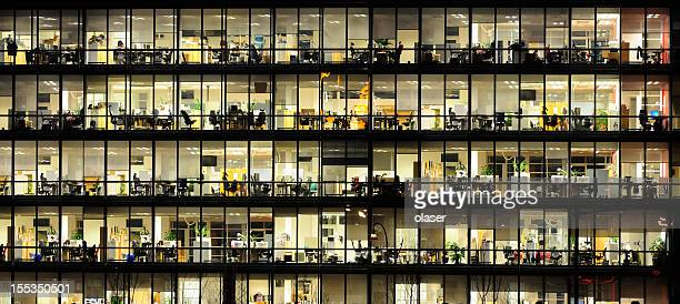 オフィスから夜ます。