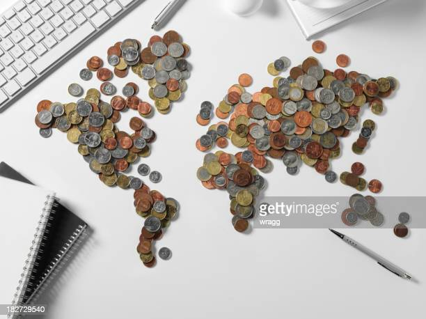 Office with the World in Money
