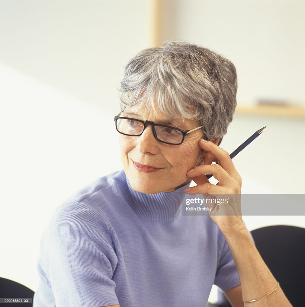 Office worker portrait stock photo getty images - Office portrait photography ...