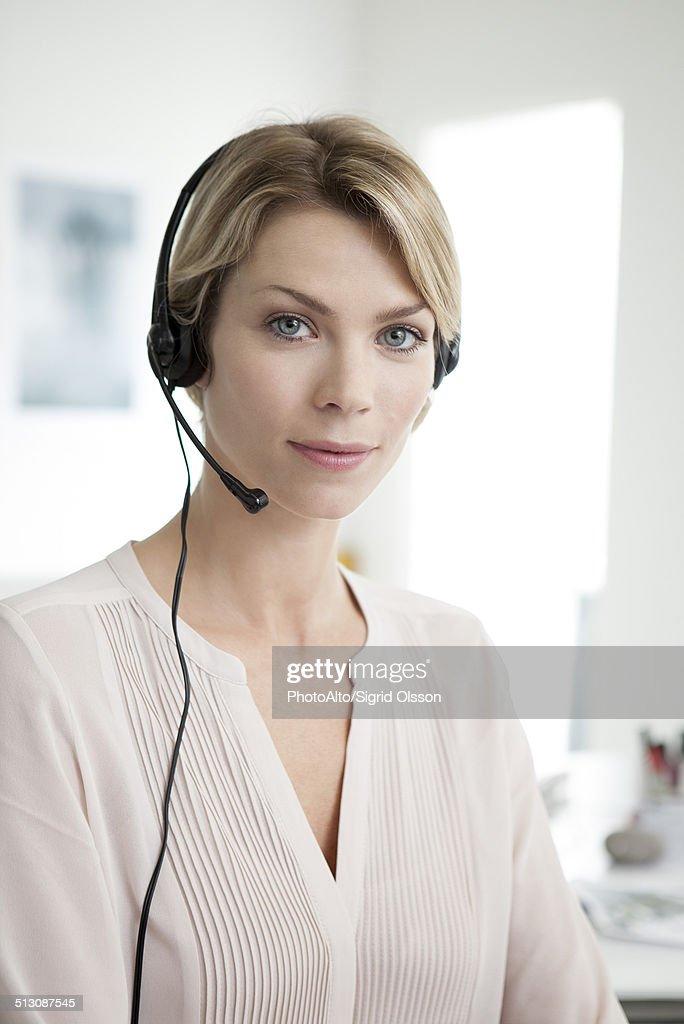 Office worker, portrait