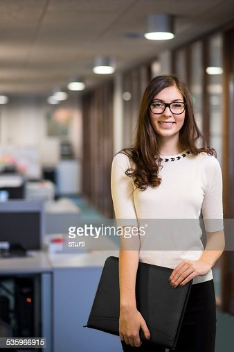 office worker portrait : Stock Photo