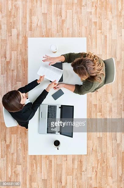 Büroberuf Arbeiten am Arbeitsplatz