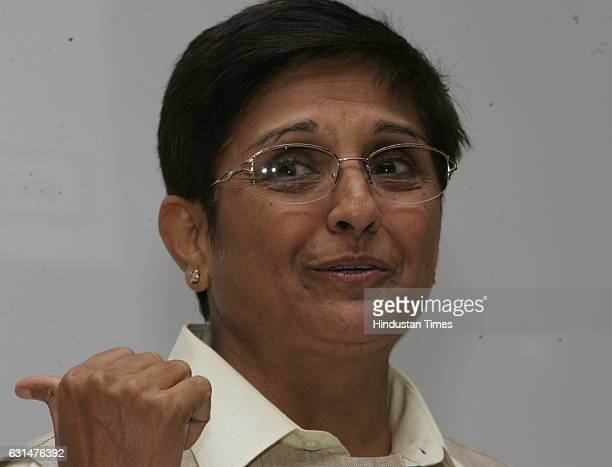 IPS officer Kiran Bedi