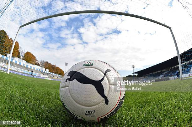 Official ball of Puma prior the Serie B match between SPAL and Carpi FC at Stadio Paolo Mazza on October 22 2016 in Ferrara Italy