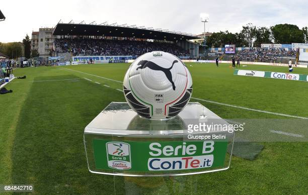 Official ball of Puma prior the Serie B match between SPAL and FC Bari at Stadio Paolo Mazza on May 18 2017 in Ferrara Italy