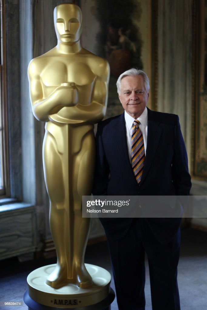 Official biographer of the Academy Awards Robert Osborne attends the Oscar Party Preview at GILT at The New York Palace Hotel on February 18 2010 in...