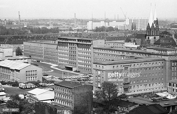 GDR Official buildings of the state Building of the Ministry for State Security in East Berlin