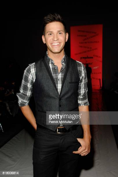Official Hank attends Richie Rich 2011 Fashion Show at The Studio at Lincoln Center on September 9 2010 in New York City