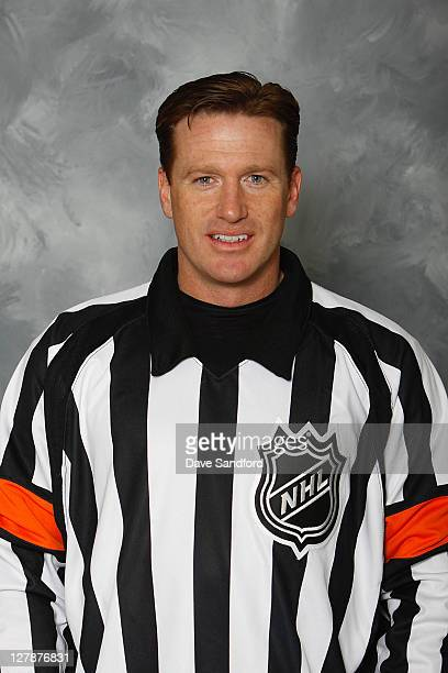 Official Kelly Sutherland poses for his official headshot for the 20112012 season on September 14 2011 in Thornbury Ontario Canada