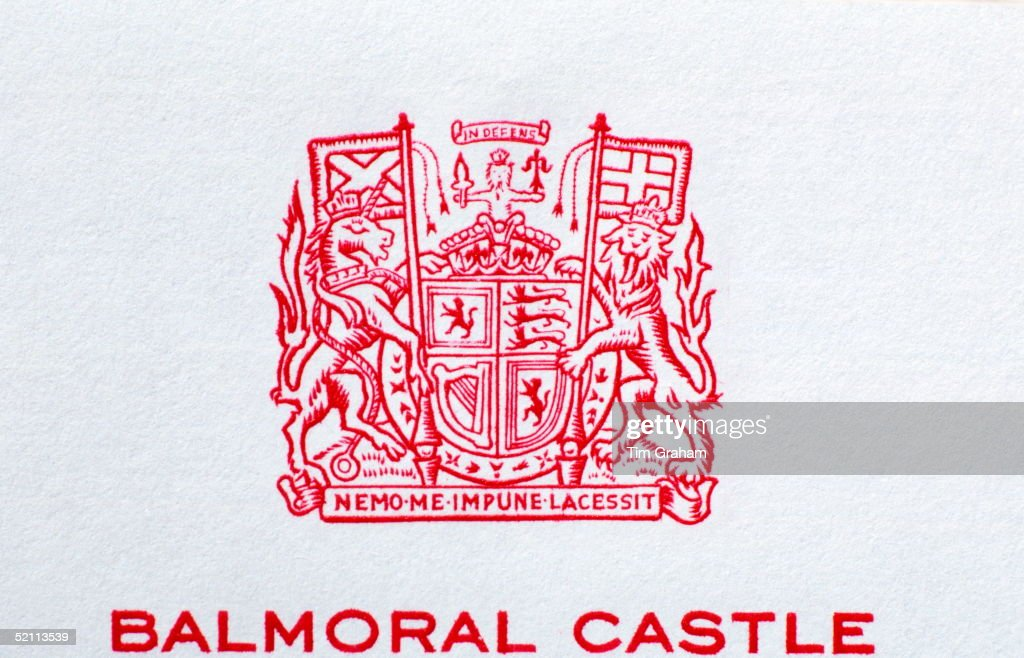 Balmoral Castle Letterhead Pictures | Getty Images