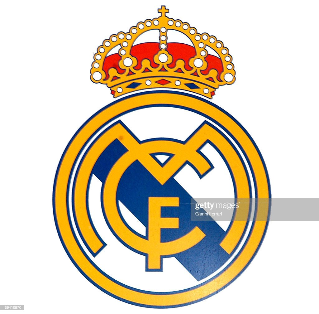 Official logo of the spanish football team Real Madrid