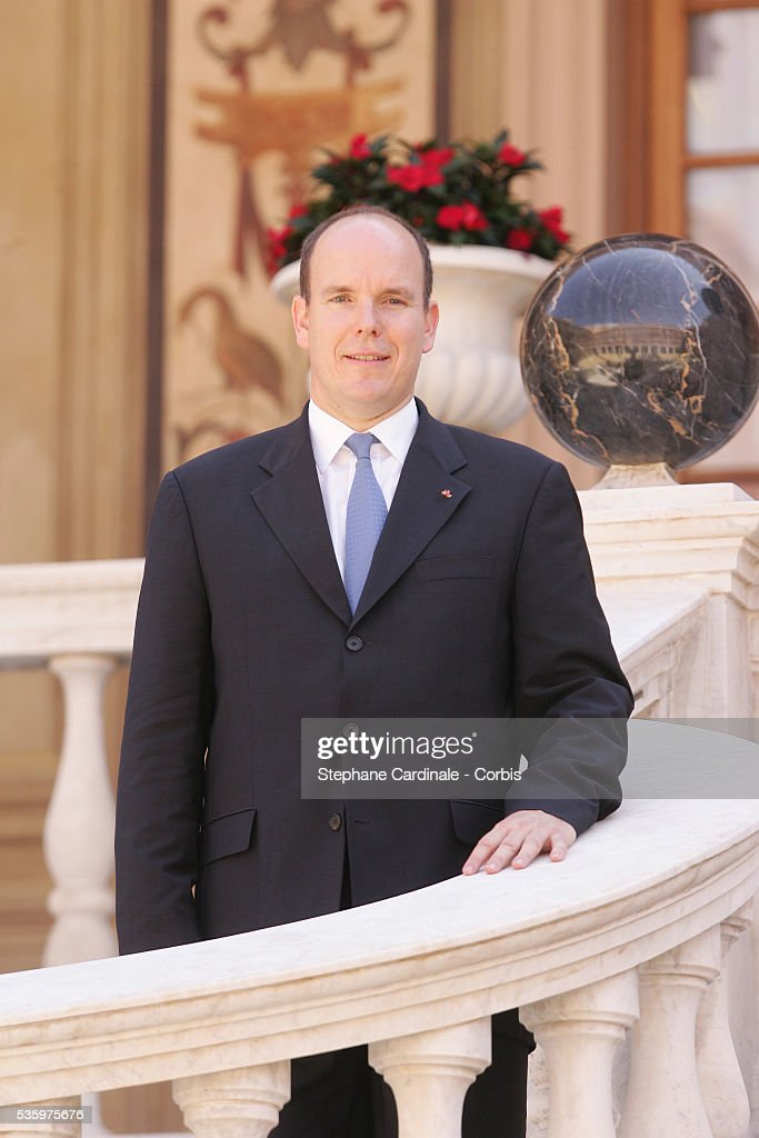 Official photograph of HRH Prince Albert II of Monaco following his enthronement ceremony in Monaco Cathedral on July 12, 2005. Prince Albert II, 47, took over as ruler of the principality following the death of his father, Prince Rainier in April.