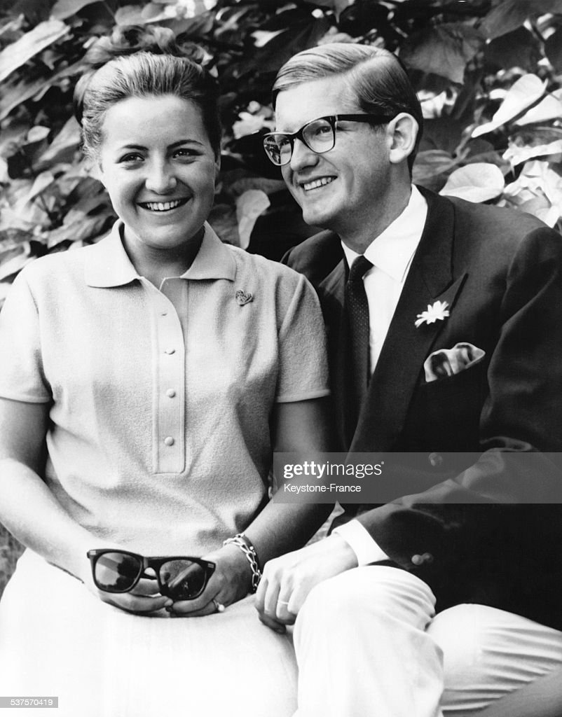 Official Portrait for the announcement of the wedding of Princess Margriet with Pieter van Vollenhoven on November 30, 1966 in the Netherlands.