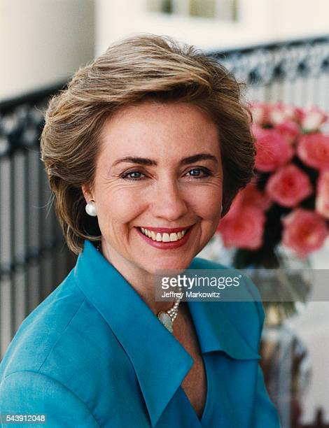 Official Portrait of First Lady Hillary Clinton