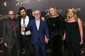 Official recipients for 'The Leftovers' Cocreator/executive producer Damon Lindelof actor Justin Theroux cocreator/executive producer Tom Perrotta...