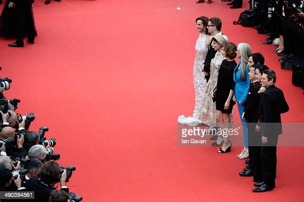 Official Selection Jury members Carole Bouquet Nicolas Winding Refn Leila Hatami Sofia Coppola Jane Campion Gael Garcia Bernal Zhangke Jia Doyeon...