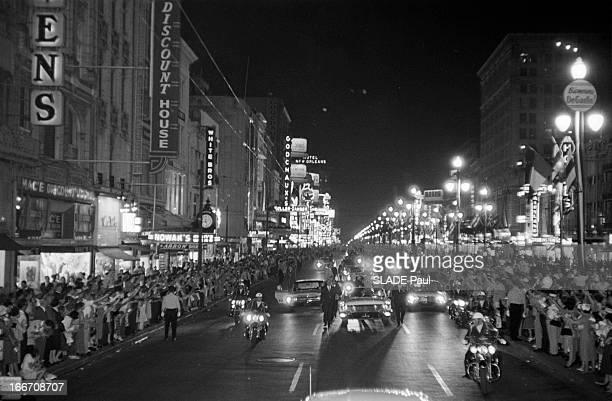 Official Travel Of General De Gaulle To The United States New Orleans Le 28 avril 1960 à l'occasion d'un voyage officiel aux Etats Unis du président...