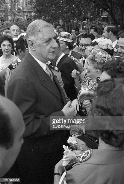 Official Travel Of General De Gaulle To The United States New Orleans Le 28 avril 1960 à l'occasion d'un voyage officiel aux Etats Unis le président...
