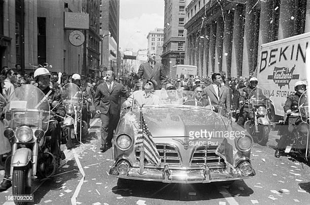Official Travel Of General De Gaulle To The United States San Francisco Le 27 avril 1960 à l'occasion d'un voyage officiel aux Etats Unis le...