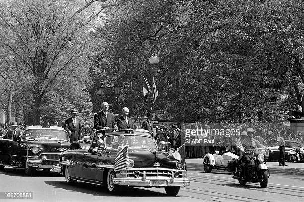 Official Travel Of General De Gaulle To The United States Washington En avril 1960 à l'occasion d'un voyage officiel aux Etats Unis à WASHINGTON le...