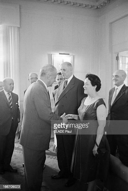 Official Travel Of General De Gaulle To The United States Washington En avril 1960 à l'occasion d'un voyage officiel aux Etats Unis le président de...