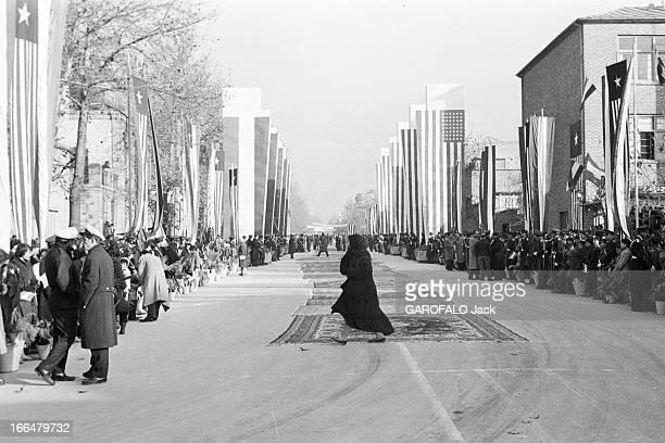 Official Travel Of The President Eisenhower In Iran 22 décembre 1959 Iran voyage officiel du président des EtatsUnis EISENHOWER Lors de ce voyage une...