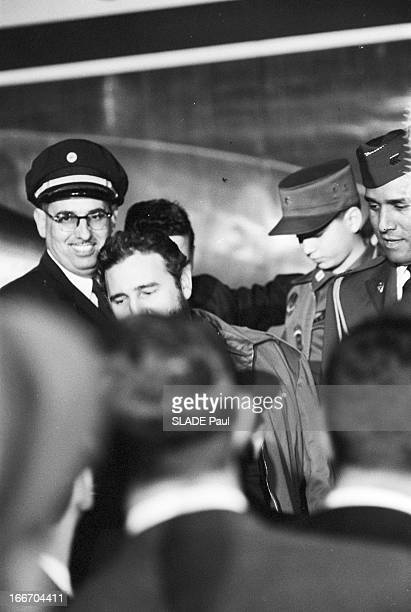 Official Visit Of Fidel Castro To United States EtatsUnis Washington 17 avril 1959 le dirigeant politique cubain Fidel CASTRO alors premier ministre...