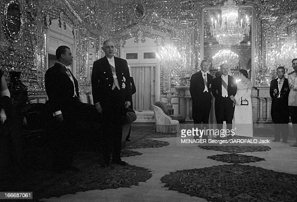 Official Visit Of General Charles De Gaulle In Iran Iran 21 octobre 1963 Le général Charles de GAULLE alors président de la République française est...