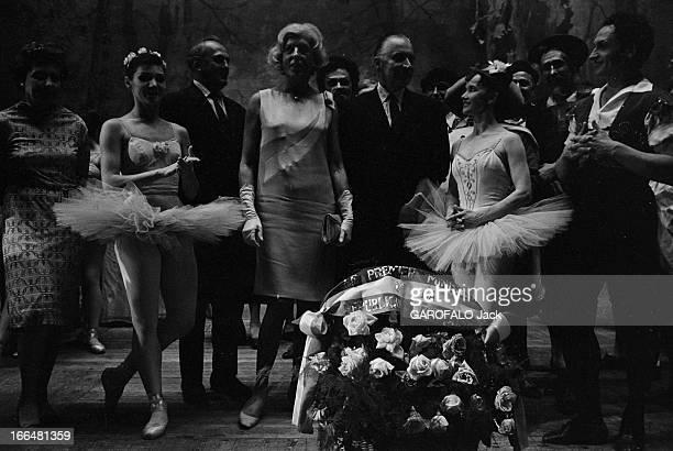 Official Visit Of Georges Pompidou And His Wife Claude To Moscow And Leningrad Union soviétique juillet 1967 le Premier ministre français Georges...