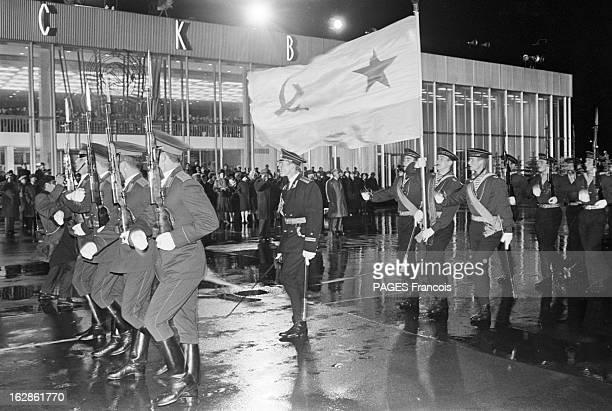 Official Visit Of Georges Pompidou To The Ussr In 1970 URSS Moscou octobre 1970 visite officielle du président de la république française Georges...