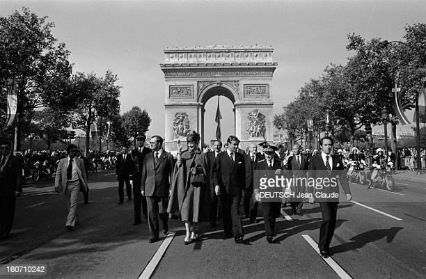 Official Visit Of Margrethe And Henrik Of Denmark In France En France en octobre 1978 lors d'une visite officielle la Reine Margrethe II DE DANEMARK...