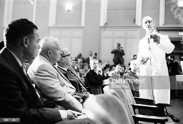 Official Visit Of Nikita Khrushchev To New York EtatsUnis Beltsville 18 septembre 1960 visite officielle de Nikita KHROUCHTCHEV président du Conseil...