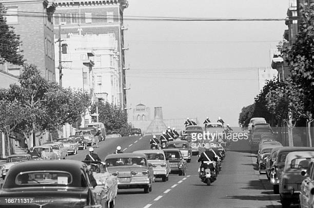 Official Visit Of Nikita Khrushchev To The United States EtatsUnis septembre 1959 visite officielle de Nikita Khrouchtchev président du Conseil de...