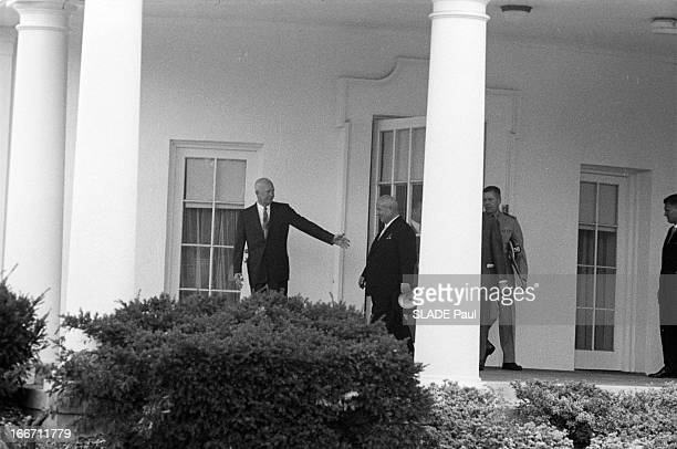 Official Visit Of Nikita Khrushchev To The United States EtatsUnis Washington 1er octobre 1959 visite officielle de Nikita KHROUCHTCHEV président du...
