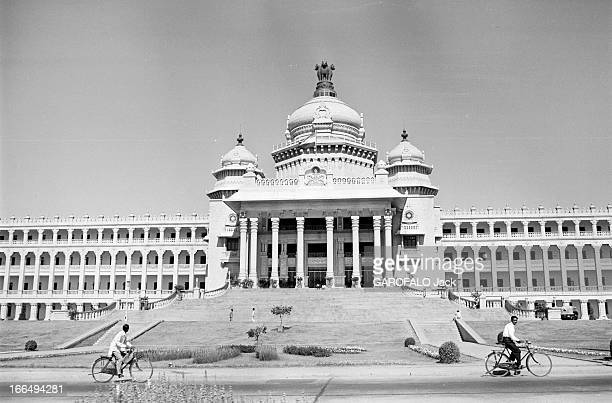 Official Visit Of Prime Minister Georges Pompidou To India Inde 1517 février 1965 Lors de sa visite officielle de Georges POMPIDOU Premier ministre...