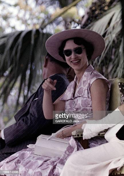 Official Visit Of Princess Margaret Of England To Trinidad Dans les années 50 lors d'une visite officielle à Trinidad la princesse MARGARET...