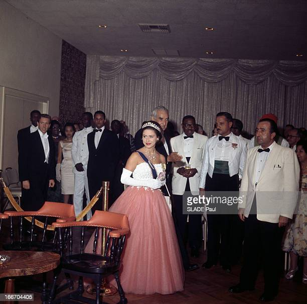 Official Visit Of Princess Margaret Of The United Kingdom To Jamaica En Jamaïque lors d'une visite officielle la Princesse MARGARET DU ROYAUMEUNI...