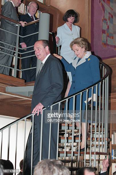 Official Visit Of The President Of The Republic Jacques Chirac In United Kingdom Angleterre Londres mai 1996 Voyage officiel du président de la...