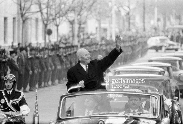 Official Visit Of The President Of The United States Dwight David Eisenhower To Toulon En decembre 1959 à l'occasion d'un voyage officiel en France...