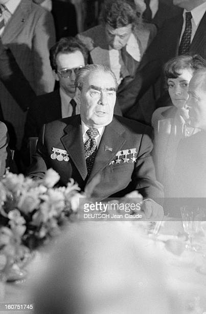 Official Visit Of Valery Giscard D'estaing In The Ussr Moscou avril mai 1979 le président de la république française Valéry GISCARD D'ESTAING est en...