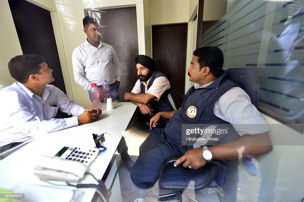 CBI officials raid at Pushp Steels and Mining office at Ajmeri Gate as part of its probe into irregularities in the allocation of coal blocks, on April 27, 2013 in New Delhi, India. CBI registered a case against a Chhattisgarh-based company in connection with alleged misrepresentation of facts while applying for coal blocks and carried out searches at 11 locations across the country. The case is against Pushp Steels Private Limited and its directors Atul Jain and Sanjay Jain. CBI officials today searched the company's offices in Raipur, Narwana in Haryana and Delhi. CBI sources claimed that the company got a mining lease despite having no experience or enough capital required for mining operations.