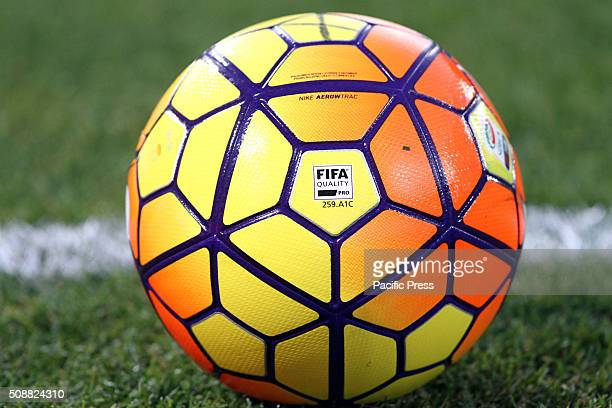 Officila ball of Italian Serie A during the Italian Serie A football match between Bologna FC v ACF Fiorentina