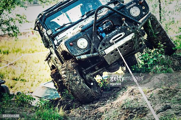 off-road 4x4 car race