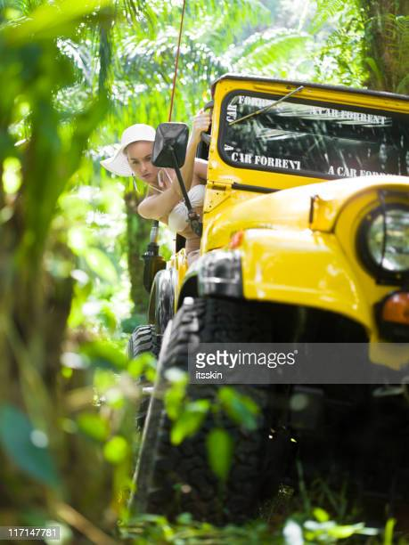 Offroad 4x4 jungle safari