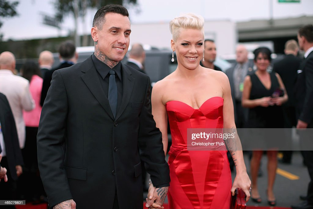 Pink Grammys Red Carpet